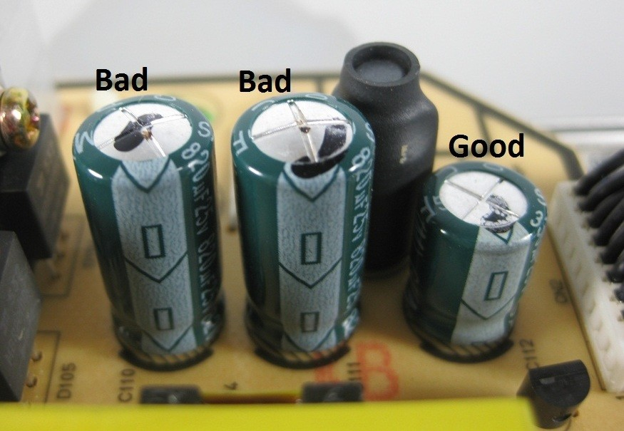 Good Bad Ugly Capacitors