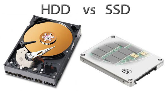 HDD v.s. SSD