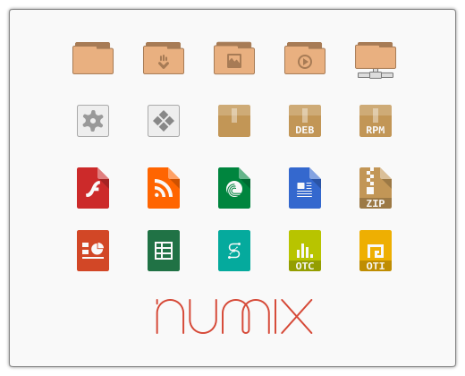 NUMIX icon and themes for linux