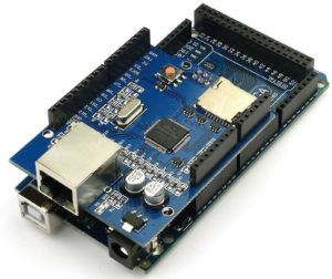 Arduino Mega with Ethernet shield